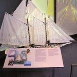 Biloxi Visitors Center - Interior rooms w/ history of the Biloxi Schooners
