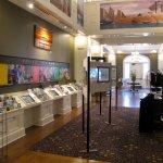 Biloxi Visitors Center - Interior rooms w/ historical displays and literature