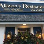 Foto de Alisson's Restaurant