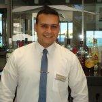 The restaurant manager Ilias Gialitakis