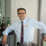 The manager for the bars Dimitris Chalkiadakis