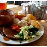 Two-meat carvery every Sunday, served 12 noon until 3pm