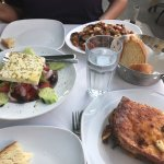 Delicious, authentic Greek food. Exceptional service. The moussaka was fantastic!