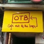 Cafe Out Of the Box at Khan Market