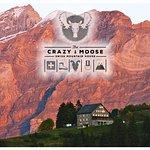 Le restaurant Crazy-Moose au coeur des Alpes