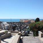 Sète, Cimetière Marin, view