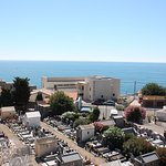 Sète, view from the Cimetière Marin