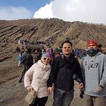 Rim of Mount Bromo