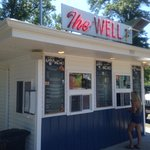 A great summer stop. A family of four was less than $50 for burgers, fries, drinks, & ice cream.
