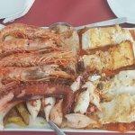 Parrillada de pescado y marisco!!!