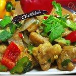 Chilly chicken  @ 淇里思印度美食餐廳 Chillies Indian Restaurant Taichung 0423770007 , 0422517111