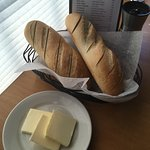 Warm, soft bread served as soon as we sat down.