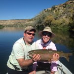 Best trout ever with Steve Gill of Resolution Guide Services.