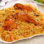 This is real Chicken Kabsa