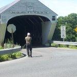 New Hampshire entrance to the Cornish-Windsor Bridge