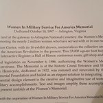 Women in Military Service for America Memorial Foto