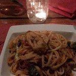the veggie pasta!