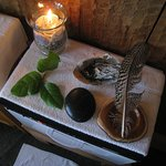 Ready for the special hot stone massage