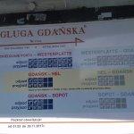 Water Tram F5 schedule to Westerplatte