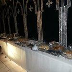 le buffet des pâtisseries marocaines