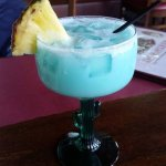 Blue Coconut Margarita