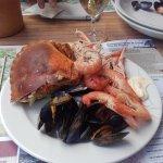 Buffet de fruits de mer , produits très frais