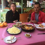 Lunch in Ourika with Hamid