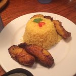 Copacabana special- Yellow rice and sweet plantains