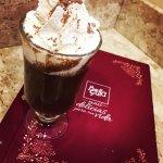 Chocolate quente com cacau italiano!