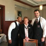 Charlie was our head waiter, Vladimir was the assistant waiter and the team leader Maureen was w