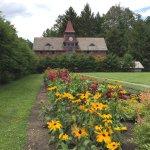 Gardens near horse barn