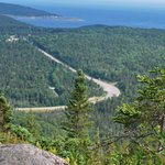View from top of Broad Cove Mountain trail