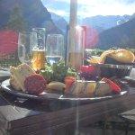 beautiful food beautiful view