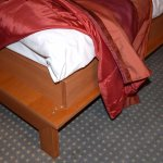 Sharp (and painful) wooden corners on beds
