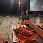 more grilled lobster