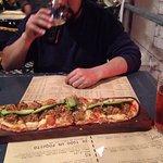 Pizza Mechada, deliciosa!