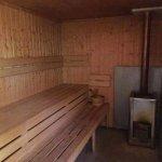 Woodfired sauna