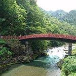 きれいな川と神橋