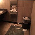 Disgusting men's room