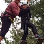 High wire Adventure! Nothing beats a trip to the Character Challenge! They go off site for chara
