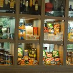 All types of gift-type foods are available in the Dining Area.