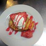 Strawberry Cheesecake Stuffed French Toast