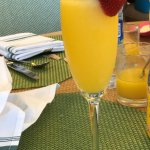 complementary mimosa for Mother's day