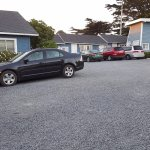 GRAVEL PARKING LOT IS HARD ON YOUR TIRES AND AUTO PAINT