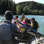 Fun time on the Kenai River with our guide Heath!!