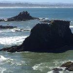 9. Coast by Lighthouse