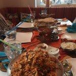 Indisches Restaurant- Neu Delhi Foto