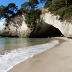 The Arch way at Cathedral Cove.