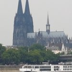 Cologne sight from the river