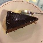 Tarta de chocolate y almendras  Arroz meloso con almejas